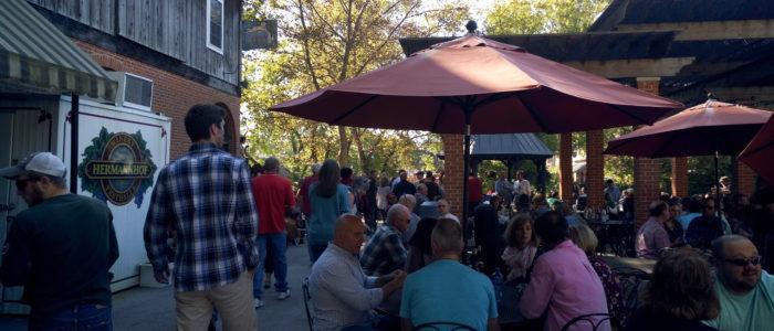Hermannhof Winery Outdoor Seating