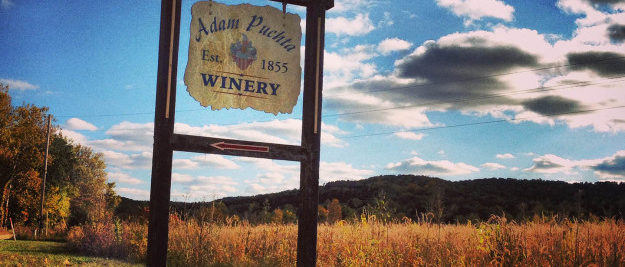 Adam Puchta Winery Sign